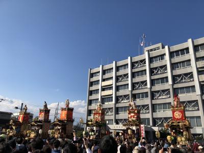 東京へ 2日目 川越 「川越まつり」  10月20日