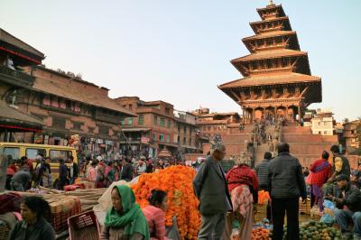 シニアのふれあい一人旅 INネパールその1 ティハールのバクタプル編①