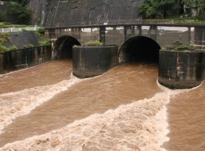 狩野川放水路 見学 と「悲しいお知らせ」