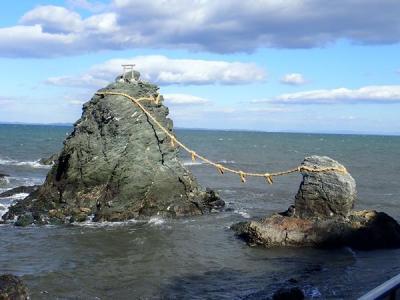 愛知・伊勢志摩の旅(23)二見興玉神社の夫婦岩