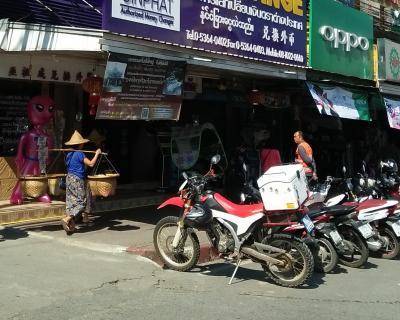 東南亜オフロード番外2 泰緬国境『バイクはダメよ』