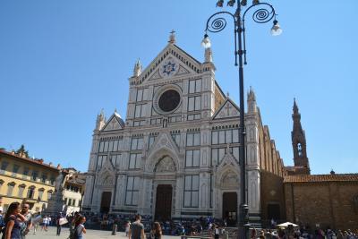 フィレンツェ バルジェッロ国立博物館からサンタ・クローチェ教会を巡りました。