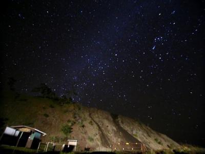 ハワイ島(22)マウナケア山麓情熱星空ツアー