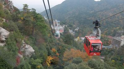 秋の御在所岳バスツアー 迫力のロープウェイ空中散歩