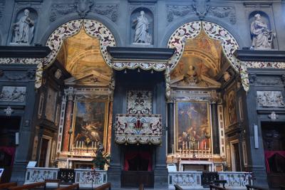 フィレンツェ メディチ家礼拝堂からサン・マルコ修道院、アカデミア美術館を巡りました。