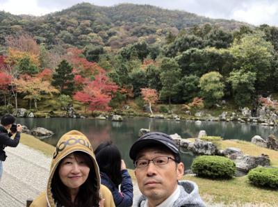 秋の京都1DAY 嵐山・トロッコから嵐山高雄パークウェイ・神護寺