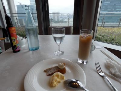 東京日帰り出張 イタリアン レストラン アルポルト 東京ビッグサイト店 の昼食