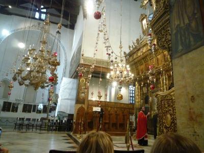 イエスが生まれたと言われる街ベツレヘム市内観光
