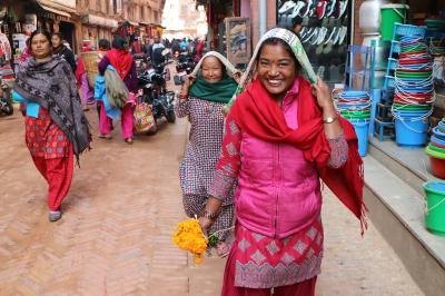 シニアのふれあい一人旅 INネパールその2 ティハールのバクタブル編②