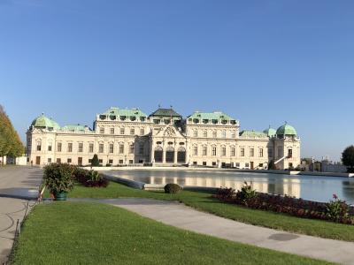 中欧4か国ツアー7日目 クリムトの絵画を見に世界遺産ベルヴェデーレ宮殿へ