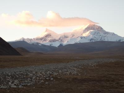 チベット旅行(8,000m峰五座大展望)7日目オールドティンリー滞在 シシャパンマベースキャンプ、ペンクンツォ、トンラ