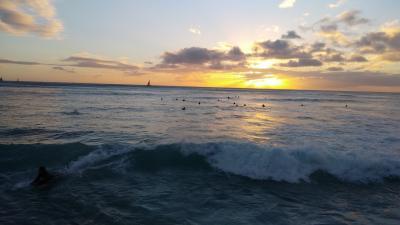 ハワイの風に吹かれて「続マジックアワー、帰国編」