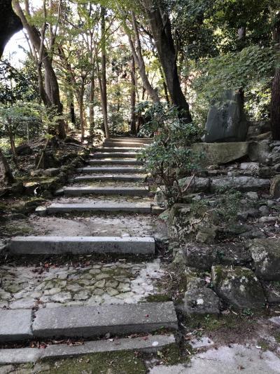 観音正寺へのお参り紅葉公園からのスタート