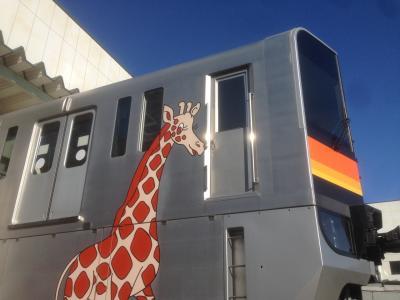 多摩都市モノレールと東京メトロ綾瀬車両基地の車両基地公開に行ってきました。