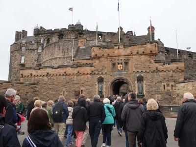 イギリス縦断11日間・・・・1)スコットランドの旧首都エジンバラ