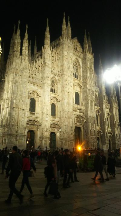 初めての2人旅 in italy ④フィレンツェ~ミラノへ移動  ミラノ1日目