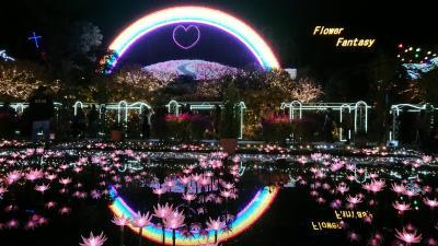 450万球のイルミネーション~光の花の庭(足利フラワーパーク)