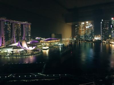 週末をシンガポールのマリーナで充電するアラフィフの旅