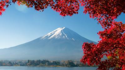 三度目のTryで雲一つ無いMt FujiをGet!!