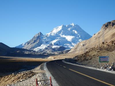 チベット旅行(8,000m峰五座大展望)8日目 オールドティンリー⇒チョーオユーベースキャンプ⇒シェーカル