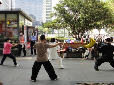 3度目の上海2012-<後編>静安寺で朝のお散歩