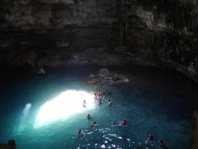 メキシコ個人旅行 2. カンクン、チチェンイッツア、セノーテ