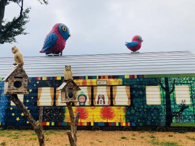 2018 AUG 新潟巡り4日間の旅 (8/8)大地の芸術祭 2018 (4)レンタカーで巡った屋外アート