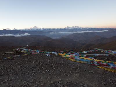 チベット旅行(8,000m峰五座大展望)9日目 シェーカル⇒ギャウラ⇒チョモランマベースキャンプ⇒絨布(ロンボク)