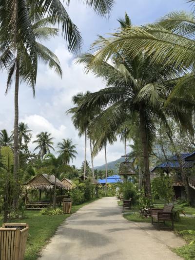 タイ パンガン島でヨガ&ヒーリング リトリート#2 リトリート生活