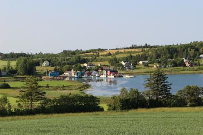 カナダ東部5州、ドライブ旅行2018 Day6-9(プリンスエドワード島 12 特急島巡り、CavendishとFrench River)