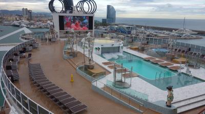 MSC Seaview に乗船。いよいよ地中海クルーズのはじまりです。