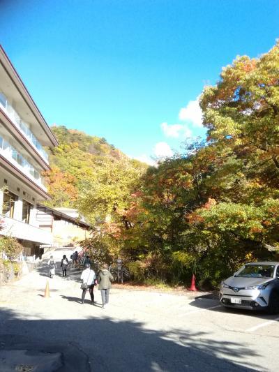 紅葉の奥蓼科横谷峡