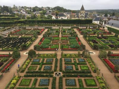 フランス一庭園のヴィランドリー城と庭園の散策