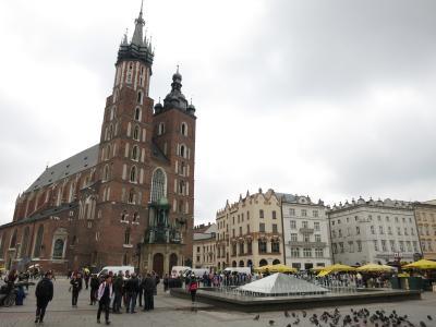 春のポーランド8日間の旅(3)クラクフ、ワルシャワ