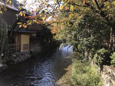 2018-10-27その1 徒歩で河原町から八坂神社、ねねの道まで