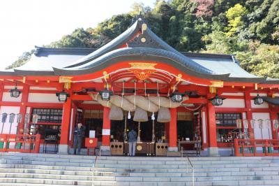 津和野神社巡り弥栄神社、総霊社と太皷谷稲荷神社参拝