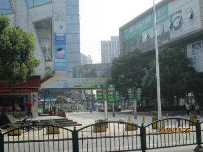 上海の川沙古鎮・緑地東海岸国際広場