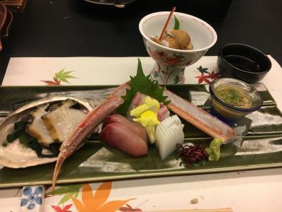 毎年恒例、蟹シーズンの城崎温泉へ。西村屋ホテル招月庭で、松葉蟹を満喫