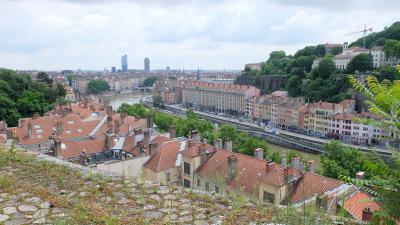 5年連続フランス2018年夏 その7 リヨンの街の歴史を感じる
