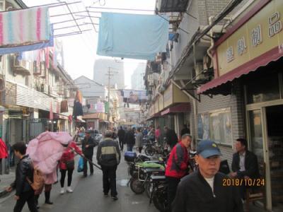 上海の台湾路・露店無くなる・2018年
