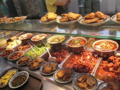上海の天津路・轉湾角大食堂・安くて美味い