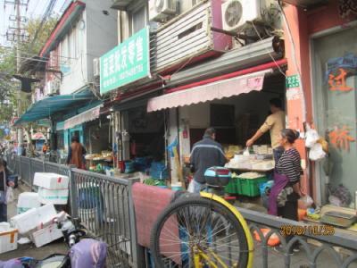 上海の海洲路商店街・露店・屋台が無くなる