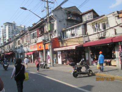 上海の東余杭路商店街・露店・屋台が無くなる