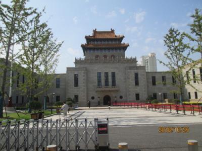 上海の黒山路・楊浦図書館・オープン