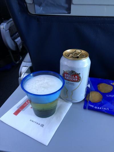 2018年 9月 飛行機に乗ってふらりとLAX タッチ、そして、Priority Passで タダ飯の旅