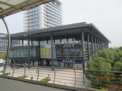 上海の浦江鎮・浦江科技広場・モール