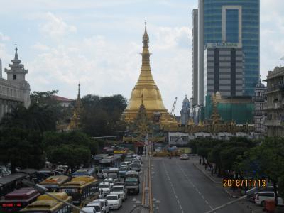 ヤンゴンの旅