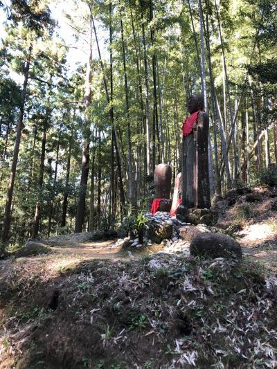 熊野古道の松本峠 花の窟