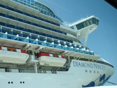 ダイヤモンドプリンセス 旅行記 2018 夏の日本海クルーズと広島・韓国-1-横浜乗船