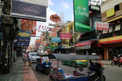 旅の始まり~バンコク6度目にして初めてのカオサン通り